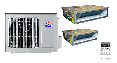 HEAT PUMP&AIR CONDITIONER DUCTLESS CONCEALED TYPE SPLIT with MITSUBISHI INVERTER