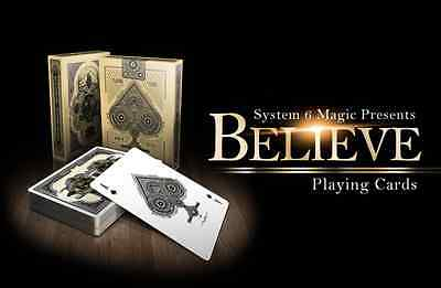 Believe Bicycle Deck Of Playing Cards By Uspcc & System 6 Magic Tricks Collector