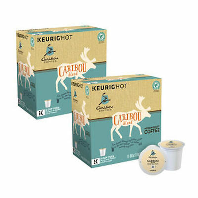 Caribou Coffee, Caribou Blend, Medium Roast, Keurig K-Cups, 180-Count