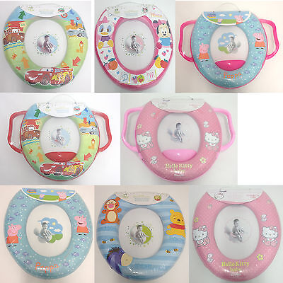 Disney Baby Padded Toilet Seat. Toddler/Toilet Training/Child. Many Deisgns! New