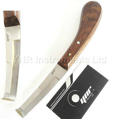 YNR England Hoof Knife Right Hand Equine Horse Pony Farriers Tools Instruments