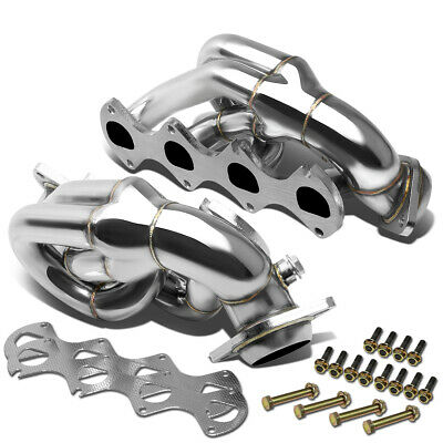 RACING MANIFOLD SHORTY HEADER/EXHAUST 05-10 FORD MUSTANG GT/SHELBY 4.6L 281 V8