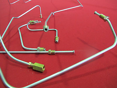 Ford Falcon Xb Gt Rpo Brake Line Set Pbr Booster Proportioning Valve 351 Coupe
