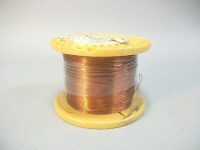 Sigmund Cohn Wire 28 AWG Enameled Copper 5 lbs Magnetic Coil Winding 2,500+ Ft