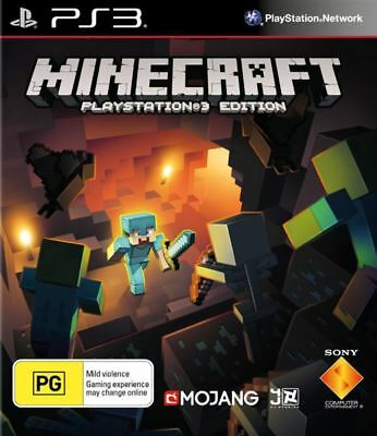 Minecraft PS3 Edition PS3 Game NEW
