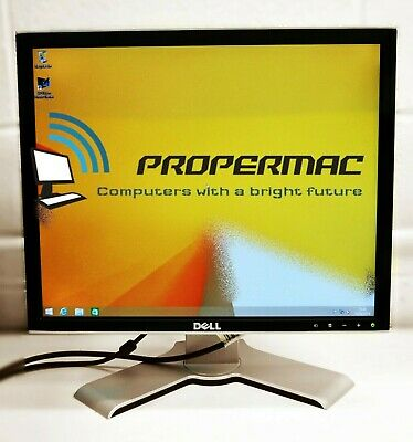 """Dell 17"""" E178FP TFT LCD Monitor Computer Screen Display GRADE A  / 48H DELIVERY"""