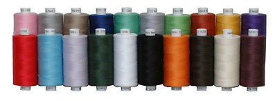 20 Moon Polyester Sewing Thread By Coats Uk