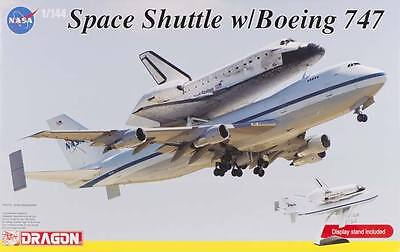 NEW Dragon Models 1/144 NASA Space Shuttle Discovery w/747 14705