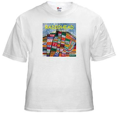 Tee Shirt New Unisex RADIOHEAD Hail To The Thief album cover on cotton t-shirt