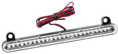 GYB PRODUCTS STOPPER RED LED MOTORCYCLE BRAKE / PLATE LIGHT BAR l.e.d. 20-3631