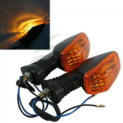 2X Front Rear Amber Turn Signal For SUZUKI GSXR 600 750 04 05 GSXR1000 2003 2004