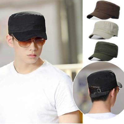 Hot Unisex Glamour Cool Boy Vintage Military Castro Cadet Patrol Army Cap Hat-S
