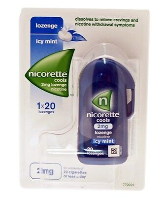 Nicorette Cools Lozenge 2mg x 20 Available In Multiple Packs
