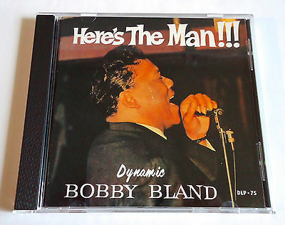 BOBBY BLAND Here's The Man/Two Steps From The Blues JAPAN 2in1 CD 1988 PCD-2006