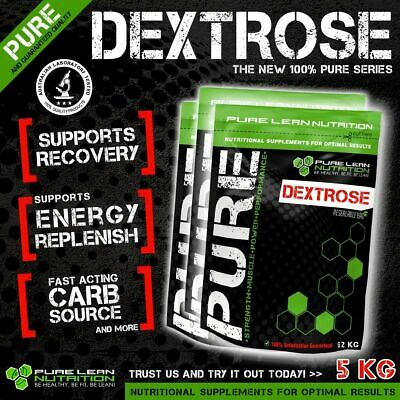 Dextrose Monohydrate 5Kg Pure Carbohydrate *Pharmaceutical Grade Post Workout