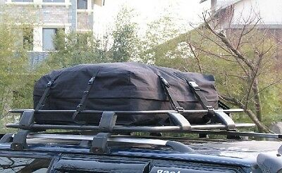 280 Ltr Car Roof Top Carrier Rack Bars Cargo Travel Touring Luggage Universal