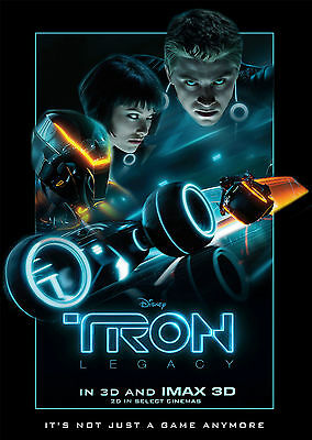 Tron Legacy V3 - A1/A2 Poster **BUY ANY 2 AND GET 1 FREE OFFER**