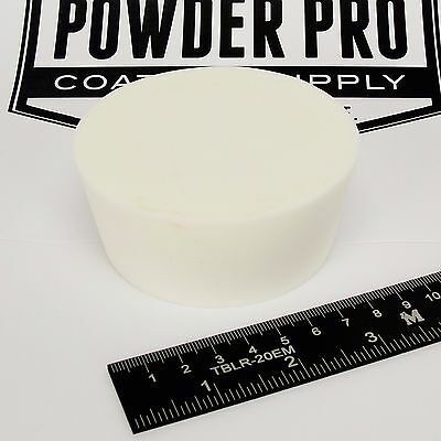 "(1) 3"" x 3 1/2"" #14 High Temp Silicone Rubber Plug Powder Coat Coating Paint"