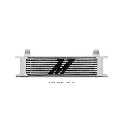 Mishimoto Universal 10 Row Oil Cooler - Silver