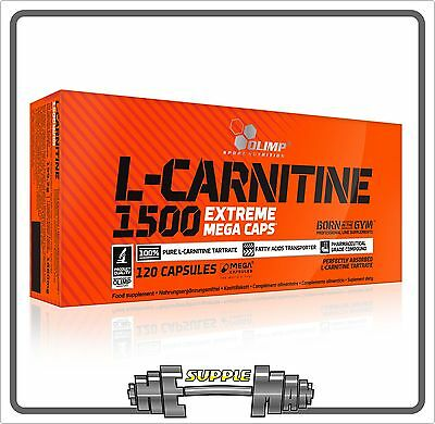Olimp L-Carnitine Extreme 1500 Mega Caps Weight Loss Ephedrine Free