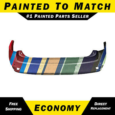 Painted to Match - Rear Bumper Cover for 10-14 Lexus RX350 w/ Park Assist