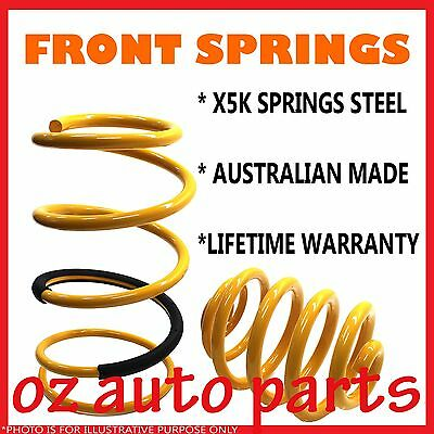 FRONT SUPERLOW 50mm COIL SPRINGS VR/VS/VT/VX/VY/VZ COMMODORE