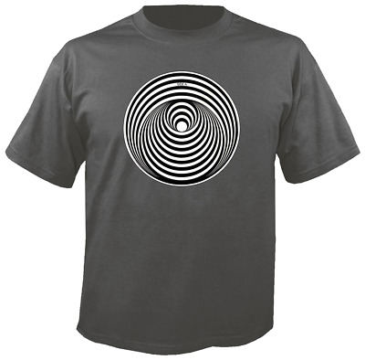 Tee Shirt New Unisex Legendary Hard Rock Record Label VERTIGO on cotton t-shirt