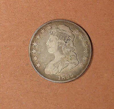 1835 Capped Bust Half Dollar grades FN, O-107, For Date or Type