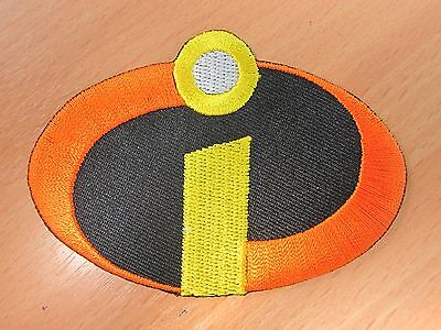 THE INCREDIBLES Logo embroidered Iron on Patch