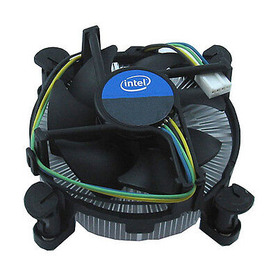 Intel Socket LGA 1150/1151/1155/1156 CPU Cooler Heat Sink Cooling Fan i3, i5, i7