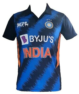 India Team Cricket Jersey 2016 / 2017 Indian shirt IPL ODI T20 Star world cup
