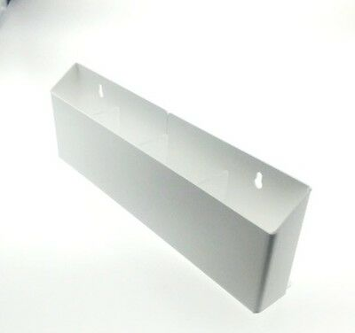 White Counter Top and Wall Mount Traditional 4 Brochure Holder