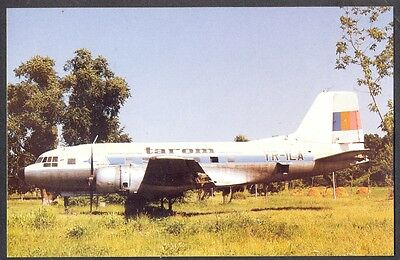 Tarom Romanian Air Transport IL-14P Postcard