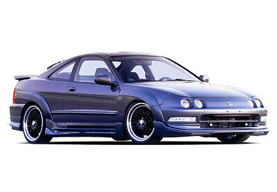Wings West 1994-1997 Acura Integra 2Dr G5 Series Kit W/7Pc Extreme Flares