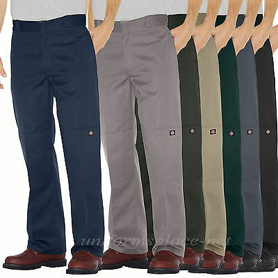 Men Dickies Work Pants Loose Fit Double Knee Cell Pocket pant 85283 Colors 28-58