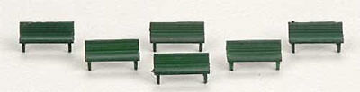 NEW Woodland Scenics Park Benches N A2181