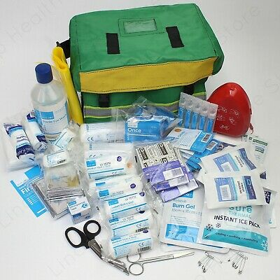 First Emergency Response First Aid Kit In Water Resistant First Aider Haversack.