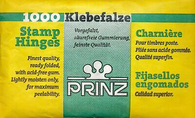 Prinz Stamp Prefolded HINGES Pack of 1000