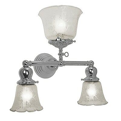 Nickel Plated Antique Reproduction Victorian Sconce (705-TGE-NP_073G_072G)