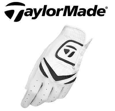 TaylorMade Stratus ALL-WEATHER Golf Glove White Left Hand (Right Handed Golfer)