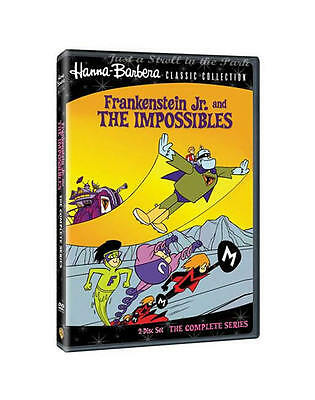 Hanna-Barbera: Frankenstein Jr. and Impossibles - Complete Classic Series NEW!