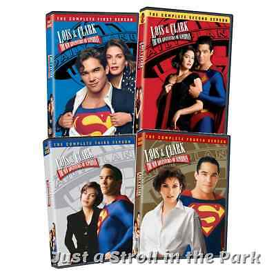 Lois & Clark The New Adventures of Superman Complete Series DVD Seasons 1 2 3 4