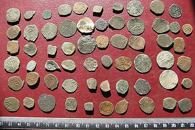 Ancient Ottoman Empire   Lot of 61 Mangir Coins  12084
