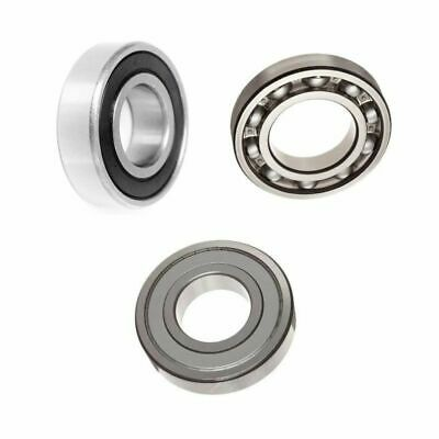 6300 Series 2RS, ZZ & OPEN Sealed Metric Ball Bearing Choose Size: