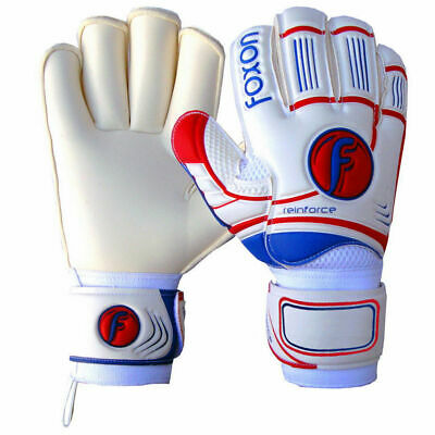 Foxon Goalkeeper Goalie Roll Finger Saver Elite X2 Gloves Size 6 7 8 9 10