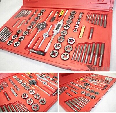 76Pc Hexagon Tool  Tap and Die SAE Standard  MM Metric High Alloy Steel Set