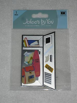 """Jolee/'s By You /""""3 Ring Binder/"""" 1 pcs Dimensional Stickers #V5"""