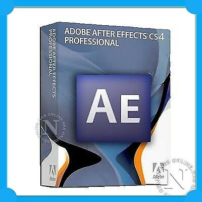 Adobe Creative Suite After Effects CS4 Pro for MAC CS 4 EDU P/N:65008873