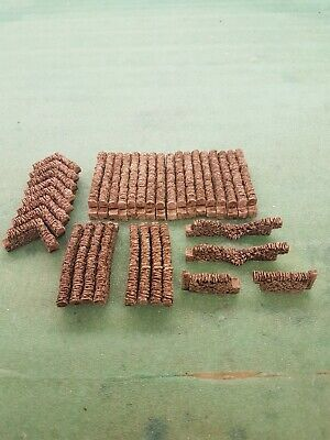 37 Stone Walling 00 Gauge Scenery Brand And New Boxed.