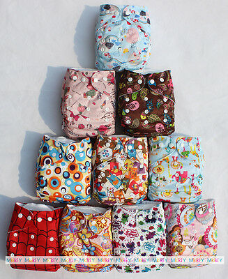 Sweet Baby Infant Reusable Cloth Nappy Washable One Size Pocket Diaper Inserts